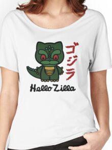 Hello Zilla Women's Relaxed Fit T-Shirt