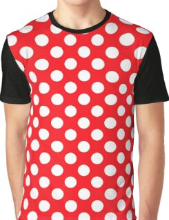 polkadot red Graphic T-Shirt