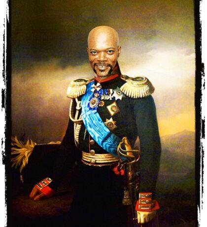 Sir Samuel Leroy Jackson Sticker