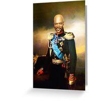 Sir Samuel Leroy Jackson Greeting Card