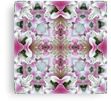 Mauve Orchids Canvas Print