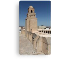 minaret Arab mosque  Canvas Print