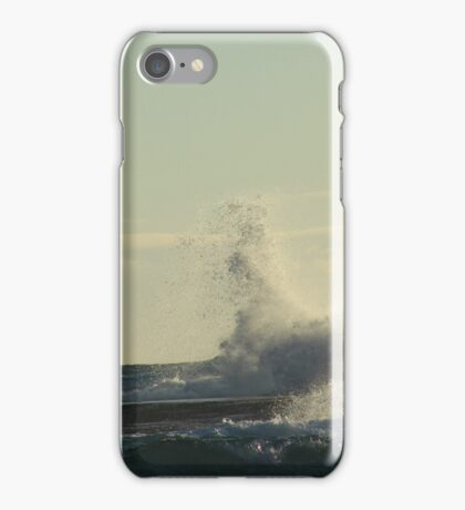 blue seas, blue skies iPhone Case/Skin