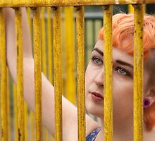 Pixie Dean - caged by David Tovey