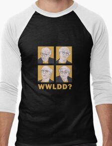 WWLDD? Men's Baseball ¾ T-Shirt