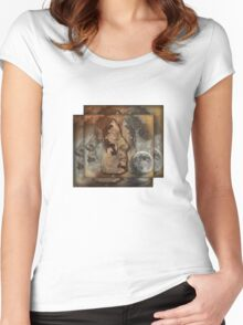 Me and myself in you Women's Fitted Scoop T-Shirt