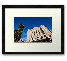 The Palais Theatre Framed Print