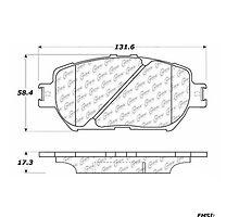Brake pad centric 102.09080 by tapsprasad