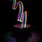 Potted Light Waves by Randy Turnbow