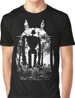 Miyazaki Forest Graphic T-Shirt
