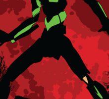 Neon Genesis Evangelion Unit 01 - Hill Top Sticker
