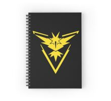 Pokemon Go Team Instinct Insignia Spiral Notebook