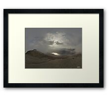 Panoramic View from Slieve Binnian Framed Print