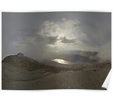 Panoramic View from Slieve Binnian Poster
