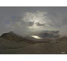 Panoramic View from Slieve Binnian Photographic Print
