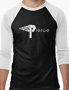 Pierce the Drill  Men's Baseball ¾ T-Shirt