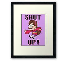 GF - Mabel Pines saying... Framed Print
