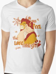 Can You Feel the Love Tonight Mens V-Neck T-Shirt