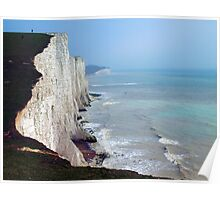 Seven Sisters, East Sussex Poster