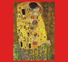 The Lovers Kiss After Klimt Baby Tee