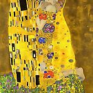 The Lovers Kiss After Klimt by taiche