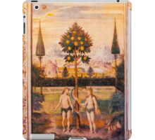 Adam and Eve Oil Painting iPad Case/Skin