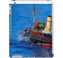 I'm on a boat iPad Case/Skin