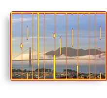 Golden Gate to California Canvas Print