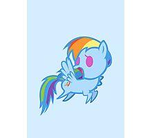 Rainbow Dash Chibi Photographic Print