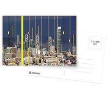 San Francisco Skyline Postcards