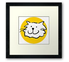 That Cat - is smiling Framed Print