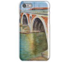 Pont Neuf sur la Garonne, Toulouse, France iPhone Case/Skin