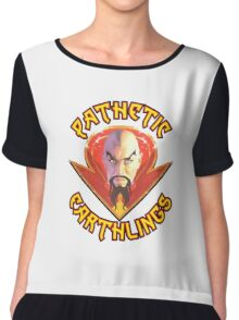 Ming the Merciless - Pathetic Earthlings Variant Two Chiffon Top