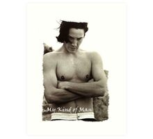 My Kind Of Man (Keanu Reeves Movie) Art Print