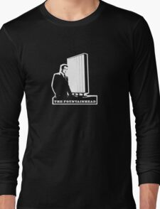 The Fountainhead White Architecture t shirt Long Sleeve T-Shirt