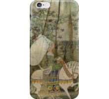 To see a fine lady upon a white horse iPhone Case/Skin
