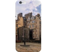 Panorama View: Lady Stairs Close, The Royal Mile Edinburgh iPhone Case/Skin