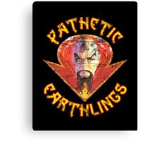 Ming the Merciless - Pathetic Earthlings Distressed Variant Canvas Print