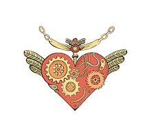 Love steampunk heart by Tatsiana Kandrashova