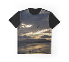 Byron Bay Sunset 1 Graphic T-Shirt