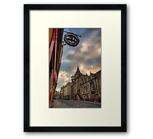 The Canongate Tolbooth, The Royal Mile Edinburgh Framed Print