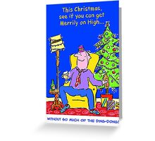 Christmas Card - Ding Dong. Greeting Card