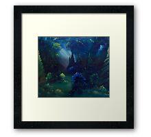 The Ravine Framed Print