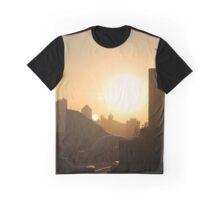 Kowloon Sunset Graphic T-Shirt