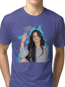 CAMILA CABELLO FROM FIFTH HARMONY CUTE PHOTO Tri-blend T-Shirt