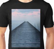 Sunset on the old pier Unisex T-Shirt