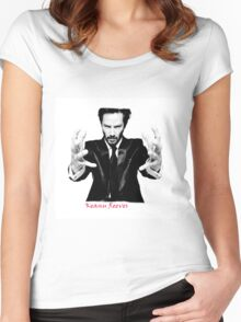 Keanu Reeves the Actor Women's Fitted Scoop T-Shirt