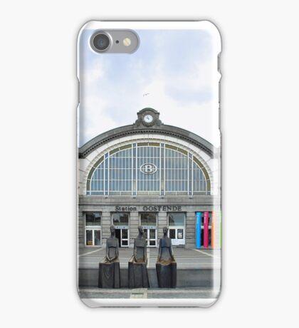 Railwaystation Oostende Belgium iPhone Case/Skin