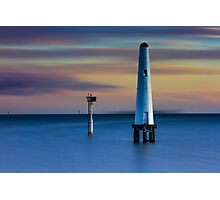 Beacon Cove Lighthouse Photographic Print