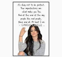 CAMILA CABELLO FROM FIFTH HARMONY QUOTE Womens Fitted T-Shirt